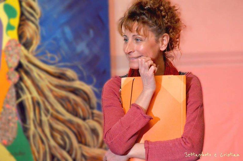 L'autrice del post, pseudo insegnante Elena Frontini